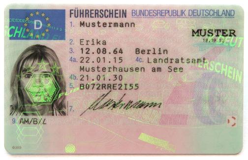 EU Drivers Licenses