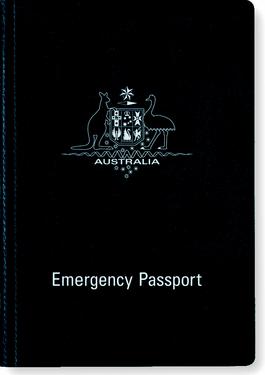 AUSTRALIAN Emergency passport