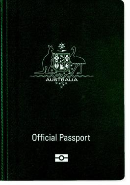 AUSTRALIAN Official passport
