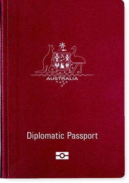 Australian diplomatic passport