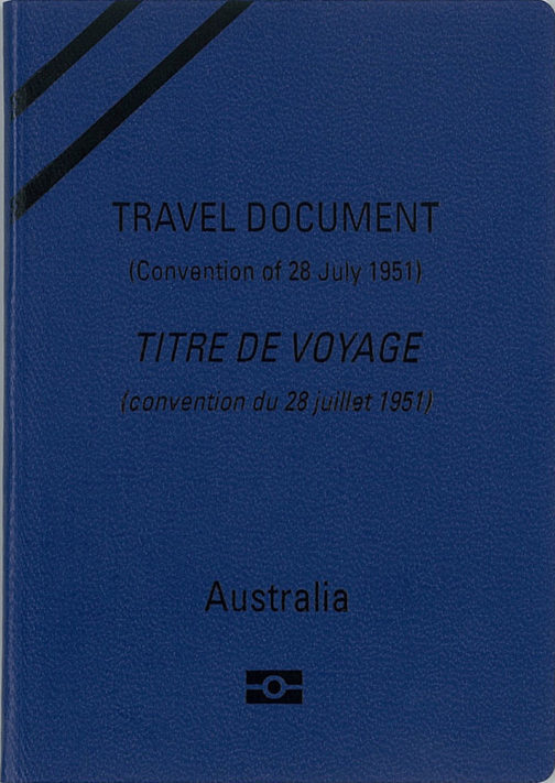 Australian refugee passport