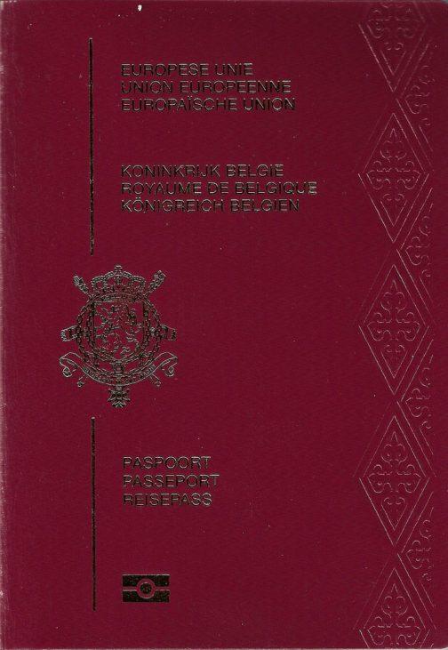 Belgian Passport