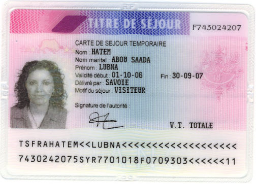 French Permanent Residence Permit
