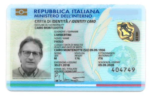 Italian Electronic Identity Card