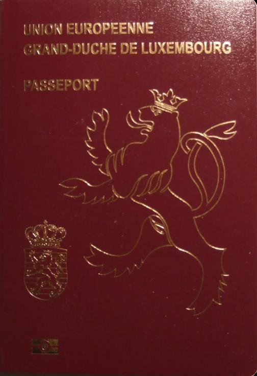 Luxembourgish Passport