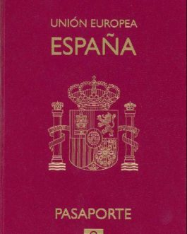 Database Unregistered Spanish Passports