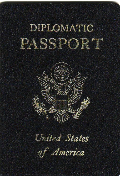 US boimetric Diplomatic Passport
