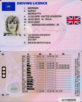 United Kingdom Driving license