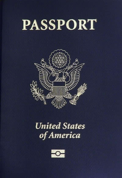 United States Passport cover