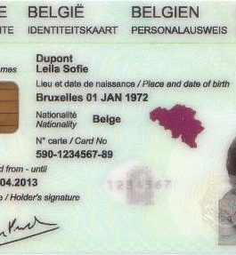 Belgian permanent residence or citizenship